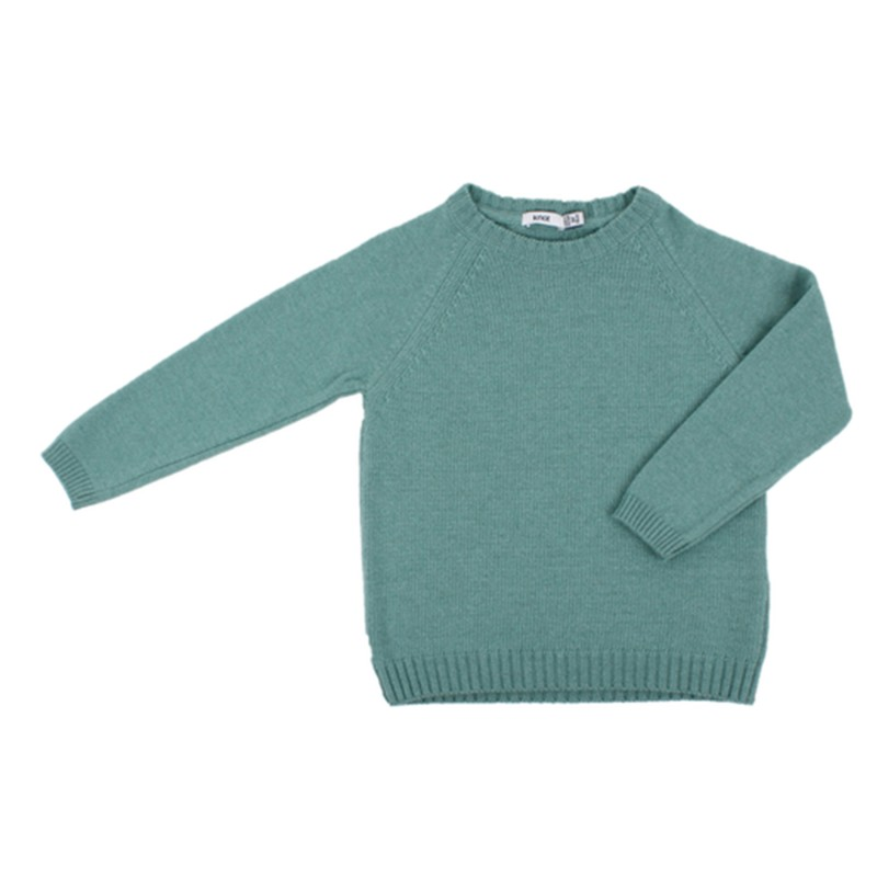 Casual Green Jumper