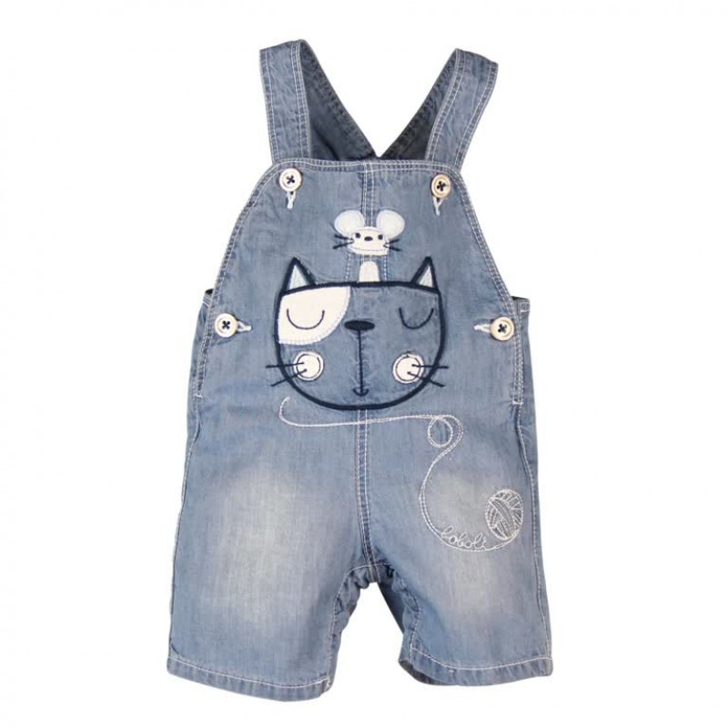 Cat and Mouse Dungarees