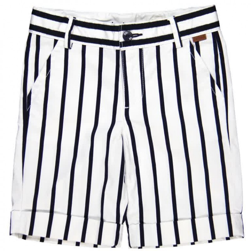 Smart Striped Shorts