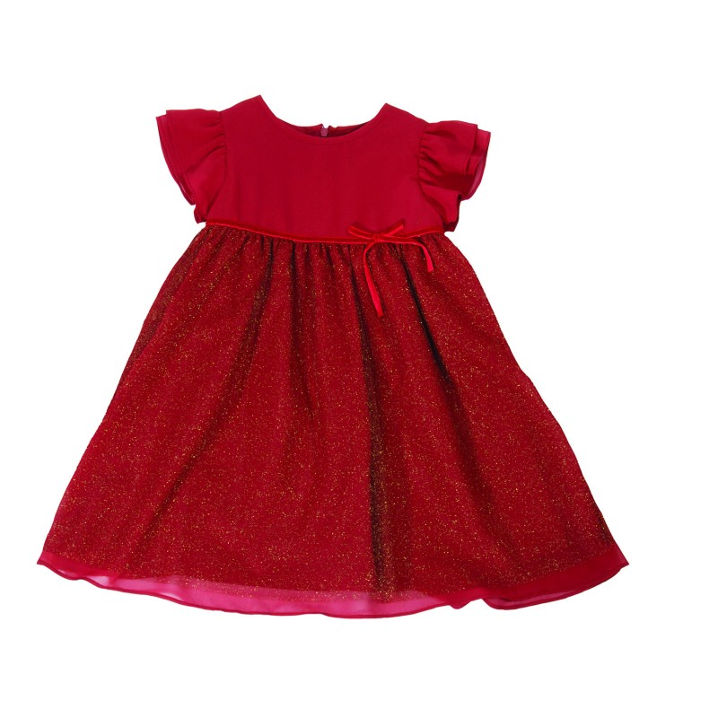 Ruby Red Party Dress