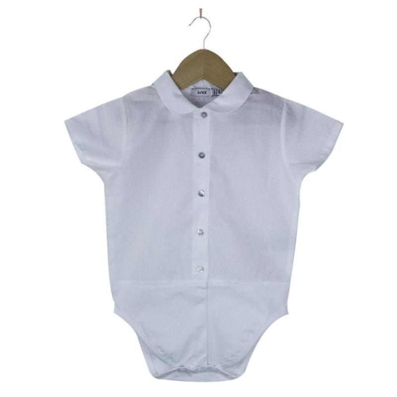 Peter Pan Collar Bodysuit Shirt
