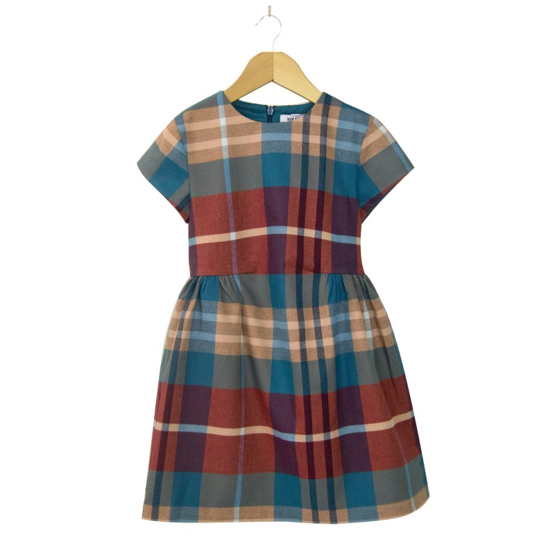 Kenya Check Dress