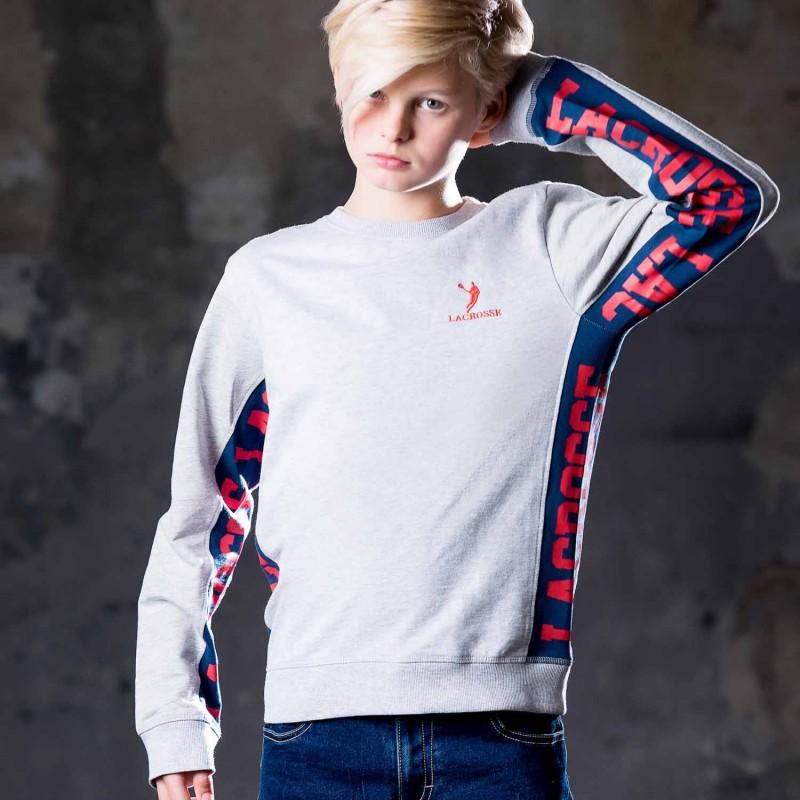 Lacrosse Grey Sweatshirt