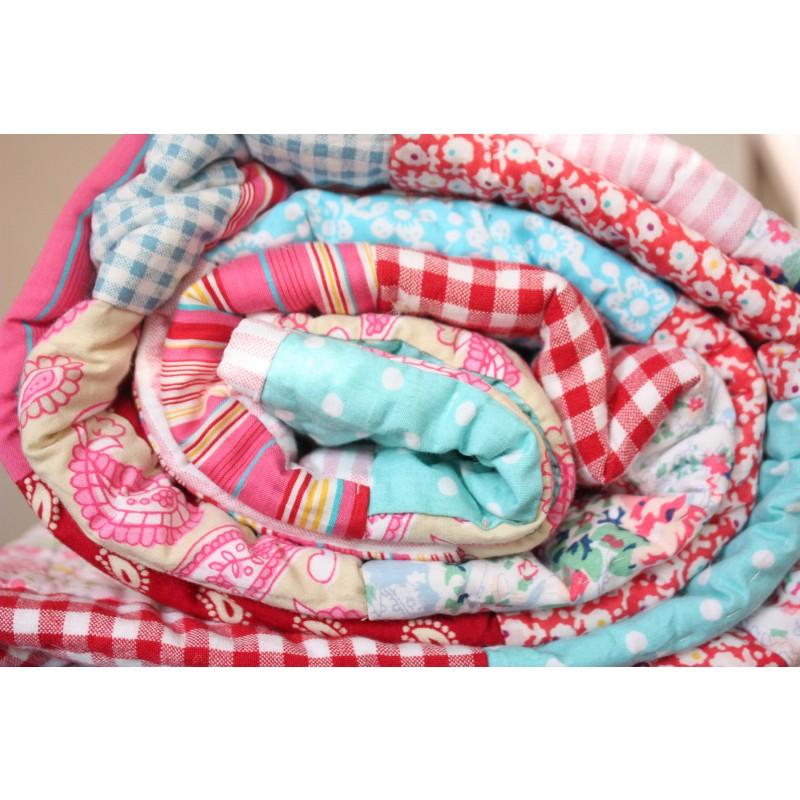 Patchwork Quilt - Cot Bed