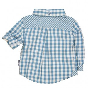 Smart Blue Check Shirt