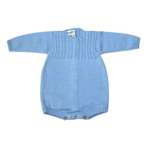 Cable Knit Wool Romper