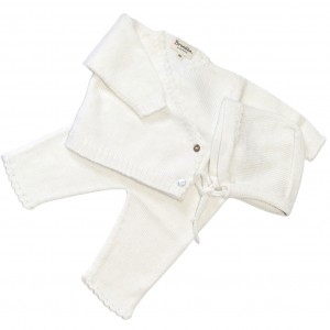 Hand Knitted Layette