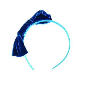 Pretty Headband with velvet ribbon