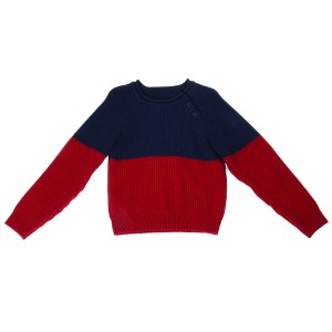 Boys two tone Jumper