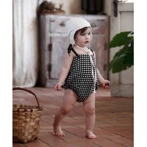 Baby Checked Playsuit