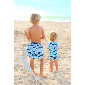 Snapper Rock Shark Sunsuit
