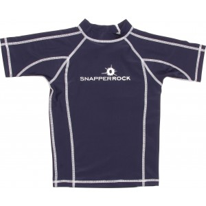 Snapper Rock Navy Swim Shirt