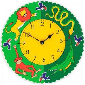 Jungle Fun Clock