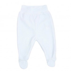 Velour Blue Baby Trousers
