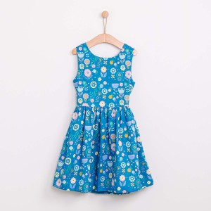 Folk Flower Dress