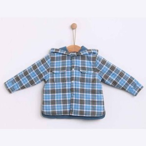 Blue Lagoon Checked Jacket