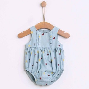 Juliette Flowered Romper
