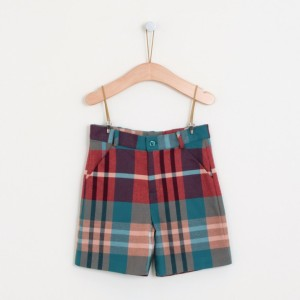 Kenya Check Shorts