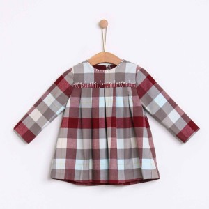 Checked Nordic Dress