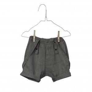 Baby Linen Farmer's Shorts