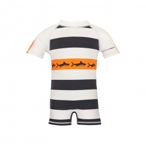 Snapper Rock Tribal Shark Sunsuit