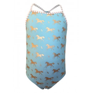 Snapper Rock Gold Horse Swimsuit