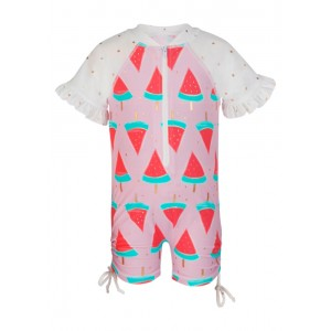 Snapper Rock Watermelon Sunsuit