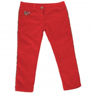 Red Trousers with a Scottish Hint