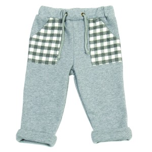 Boys Grey Casual Trousers