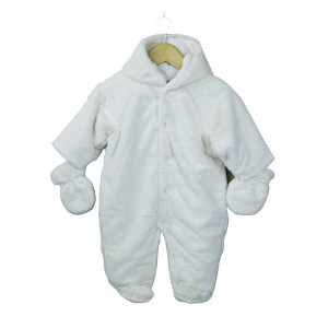 Soft and Cuddly Fur Pramsuit