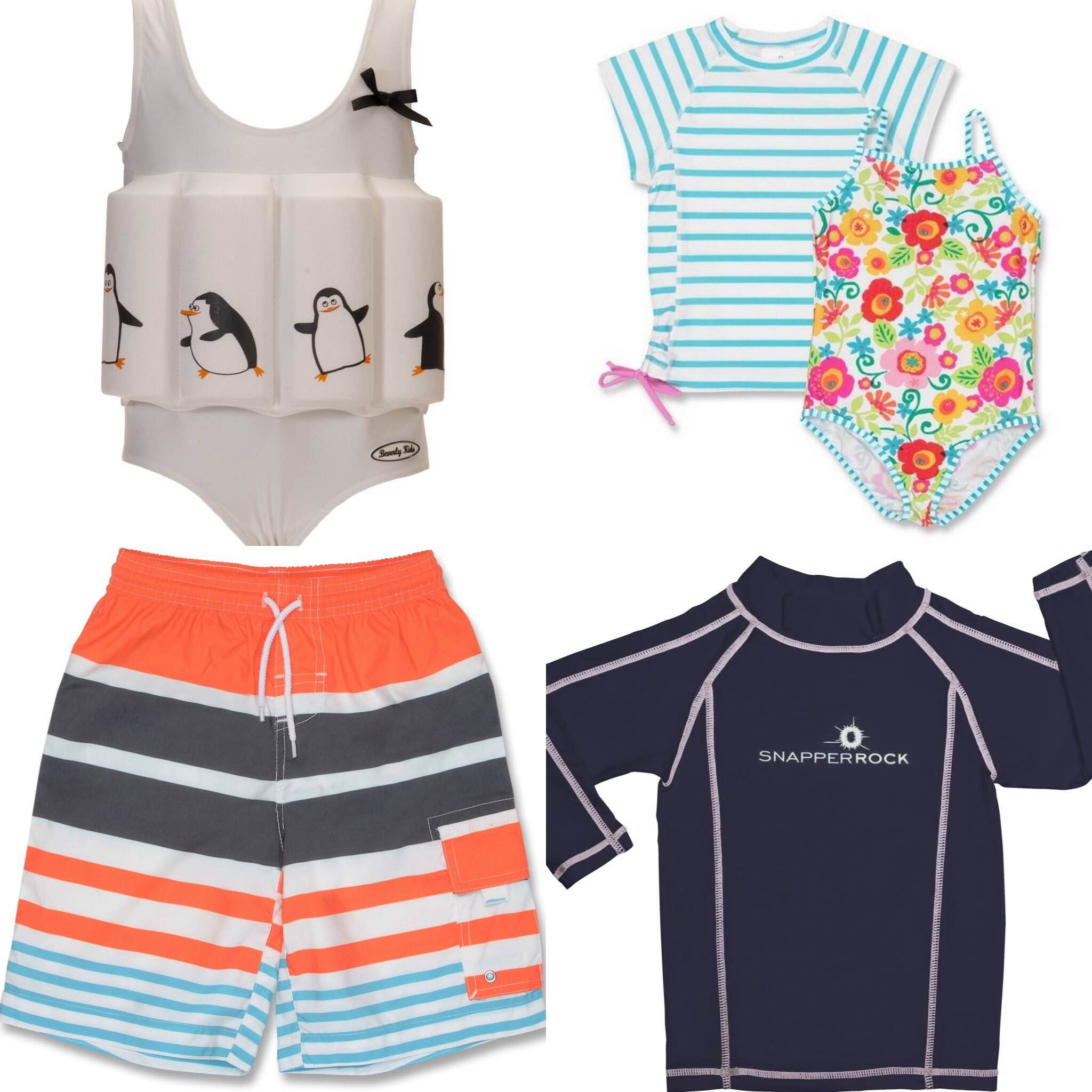 Swimwear variety from UV fashions