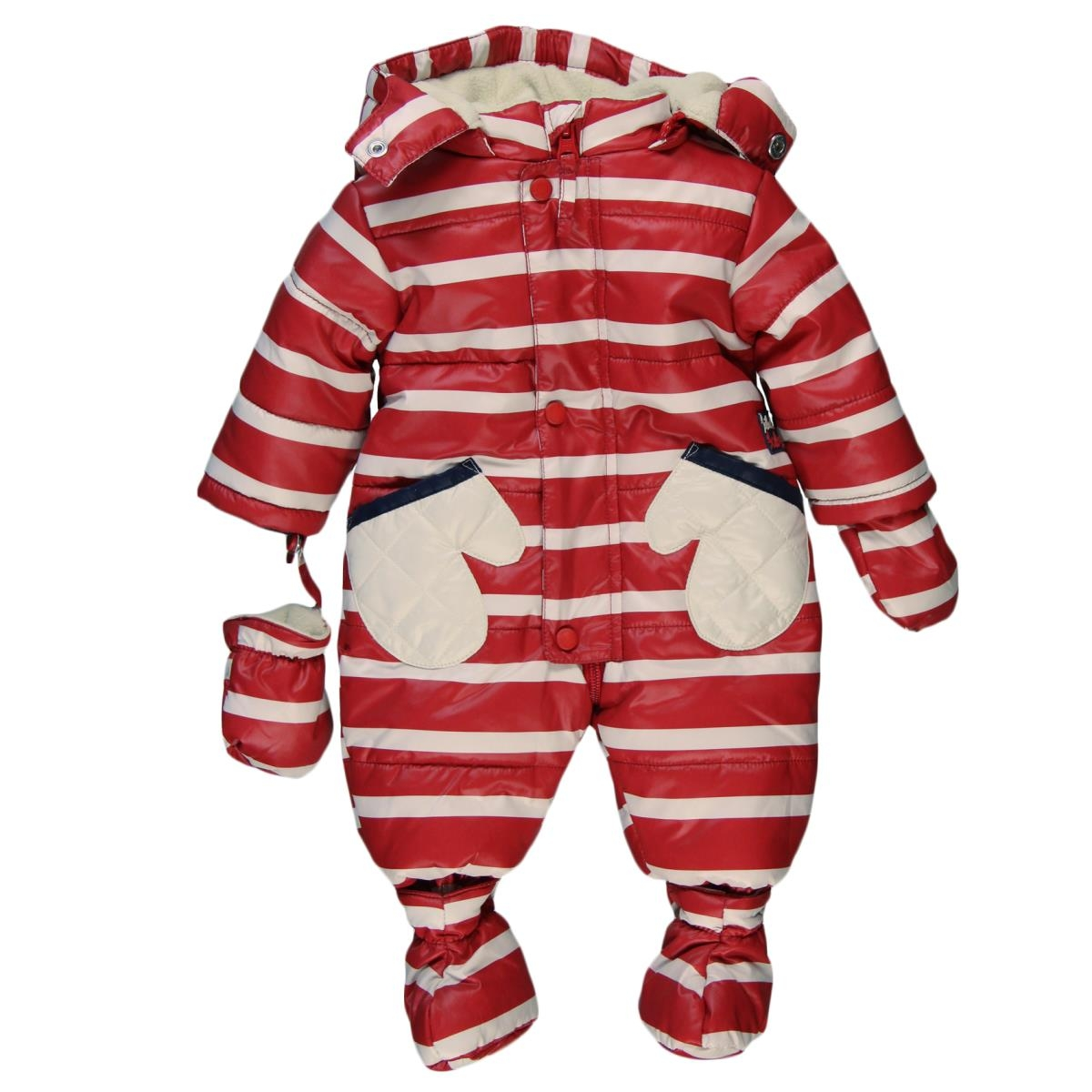 Red Striped Onesie